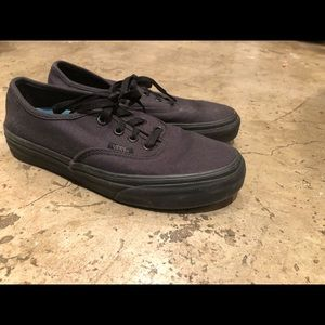 Super comfy black vans! Only worn twice!